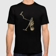Skelly  Black SMALL Mens Fitted Tee