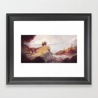 Eighteen-twelve - Niagar… Framed Art Print