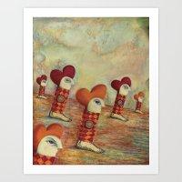 Yague Dreams Art Print