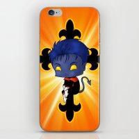 Chibi Nightcrawler iPhone & iPod Skin