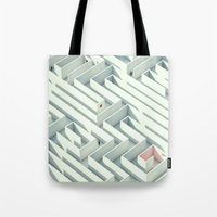 Wrong Way Street Tote Bag