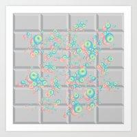 PushButton V.2 Art Print