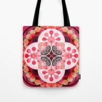 Pink illusion Tote Bag