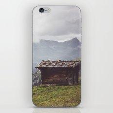Alpine hut iPhone & iPod Skin