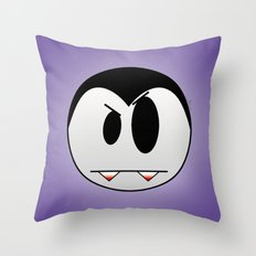 Thirsty Little Vampire Throw Pillow