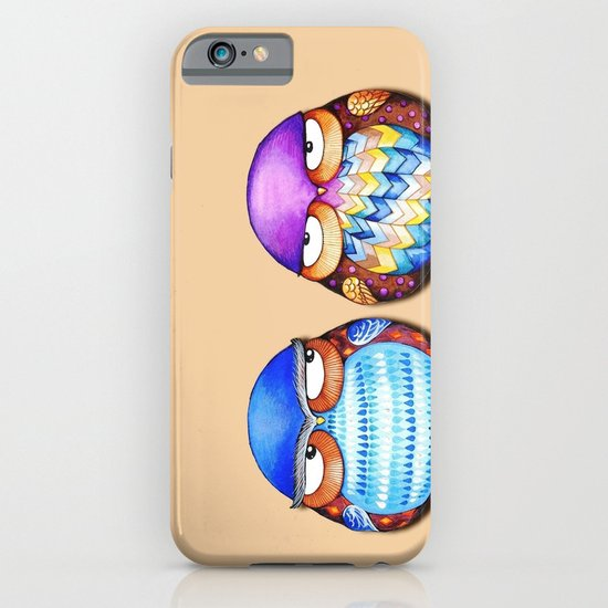 Grumpy Owls iPhone & iPod Case