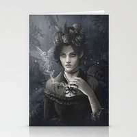 Oisillon (Victorian Lady) Stationery Cards