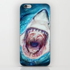 Wild Shark iPhone & iPod Skin