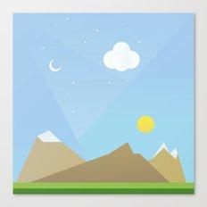 Simple plan Canvas Print
