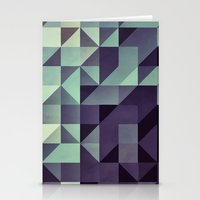 :: geometric maze :: Stationery Cards