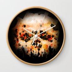 Debt Machine Wall Clock