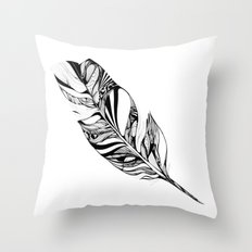 Feather - Lucidity Throw Pillow