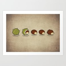 Let There Be Hedgehogs Art Print