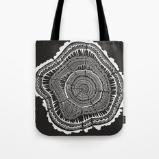 Growth Rings – 65 Year… Tote Bag