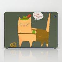 Oktoberfest Kitty iPad Case