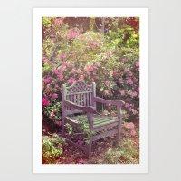 Save me a seat! Art Print