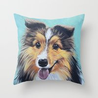 Bellie Bean Throw Pillow