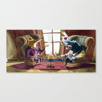 Power´s gathering Canvas Print