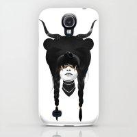 Galaxy S4 Cases featuring Bear Warrior by Ruben Ireland