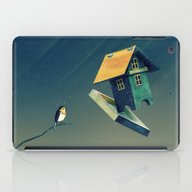 Flying Bird...house iPad Case