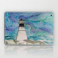 The Moody Blue Light Laptop & iPad Skin