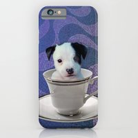 iPhone & iPod Case featuring Pup in a Cup by C...