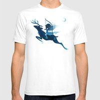 Elf Archer Mens Fitted Tee White SMALL