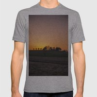 Maryland Sunset V.2 Mens Fitted Tee Athletic Grey SMALL