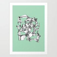 Tea Sandwich City Art Print