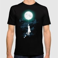 Burn The Midnight Oil  Mens Fitted Tee Black SMALL