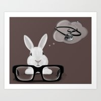 I Want To Be A Doctor Art Print