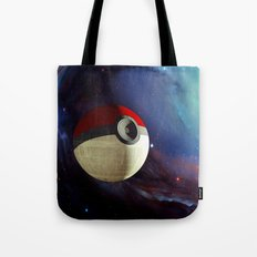Giant Pokeball Planet IP… Tote Bag