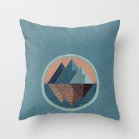 Sinai High Throw Pillow