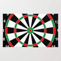 Darts Game Board Classic… Rug