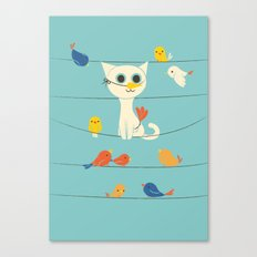 Birdwatching Canvas Print