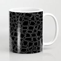 British Mosaic White And… Mug