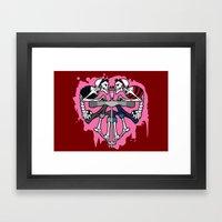 Kreeper Girls Framed Art Print