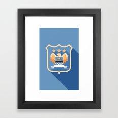 MCFC Framed Art Print