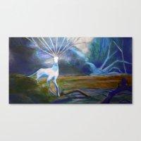 Forest spirit II Canvas Print