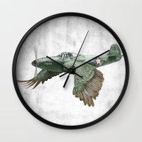In which it's a bird. It's a plane. (Now in technicolour) Wall Clock