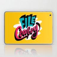 File Cowboy Laptop & iPad Skin