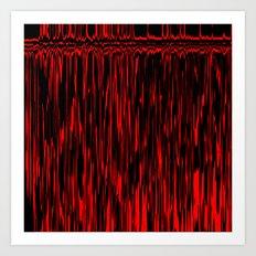 Bloody Camera Art Print
