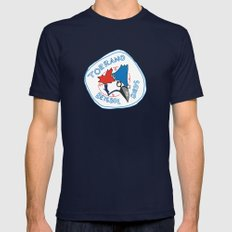 torrano beisbol birds Mens Fitted Tee Navy SMALL