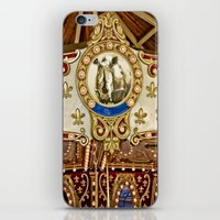 Rhinocerous Carousel At … iPhone & iPod Skin