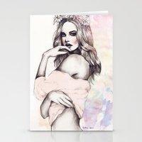 Undress me Stationery Cards