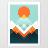 Everest Art Print