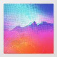 Glitch 04 Canvas Print