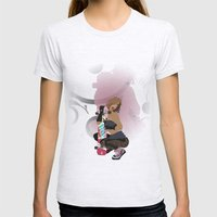 wired Womens Fitted Tee Ash Grey SMALL