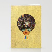 Rhythm is funky Stationery Cards