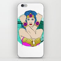 Occupy Wall Street POP A… iPhone & iPod Skin
